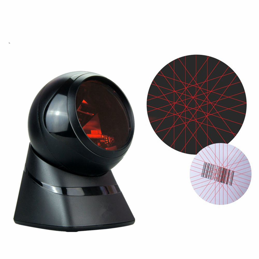 High quality omnidirectional desktop laser barcode scanner for supermarket Retail automatic bar code Scanning Platform laser head copy parts for samsung k2200 m436 laser scanner jc97 0431a
