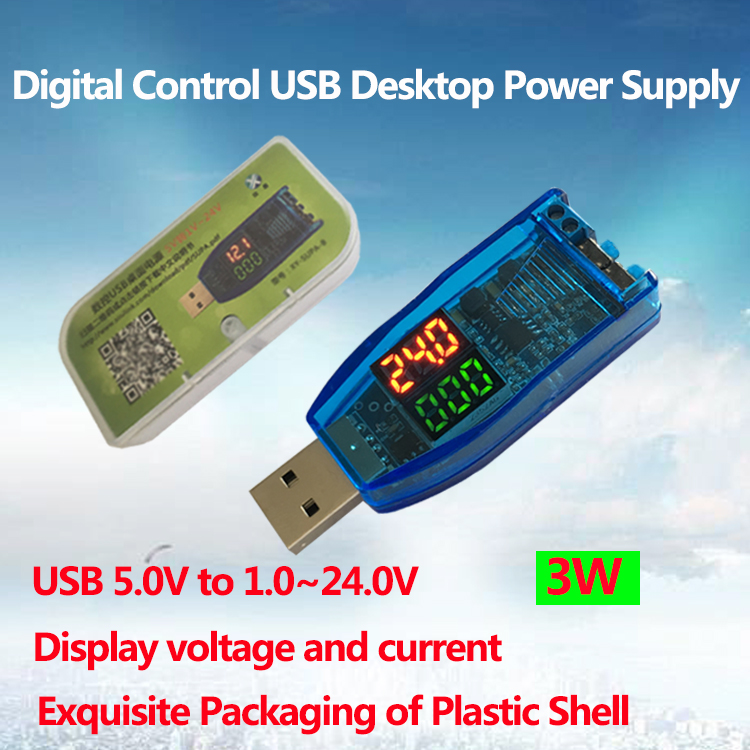 DC-DC USB Boost Power Regulator Power Module Desktop 5V to 3.3V 9V 12V 24V MA
