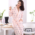 Autumn Cotton Full Sleeve Women's Robes Sleepwear Kimono Pijama femme Pyjamas Sexy Bathrobe Nightgowns feminio Plus Size XXXL