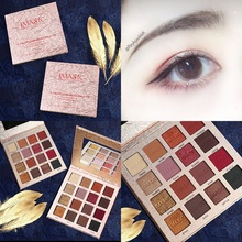 Professional 16 Color Glitter Eyeshadow Pallete Metallic Waterproof Pigment Palette Shimmer Matte Eye Makeup Cosmetic