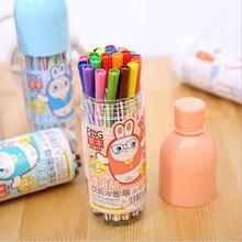 Watercolor-Brush-Pen 12-Colors/Set Art-Design-Accessories School-Stationery Children's