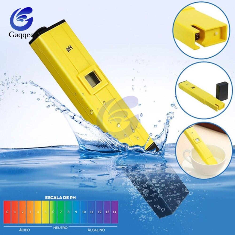 Messung Und Analyse Instrumente Tasche Stift Wasser Test Digital Ph-meter Tester Ph-009 Ia 0,0-14.0ph Für Aquarium Pool Wasser Labor Kann Wiederholt Umgeformt Werden.