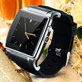 Bluetooth Smart Watch Phone SW18 SmartWatch Clock with 2MP Camera FM Radio HD Touch Screen Metal Frame for Android Smartphone