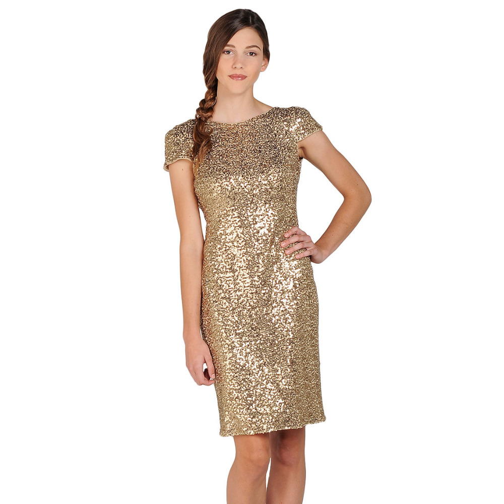 Popular Cowl Back Sequin Dress-Buy Cheap Cowl Back Sequin Dress ...