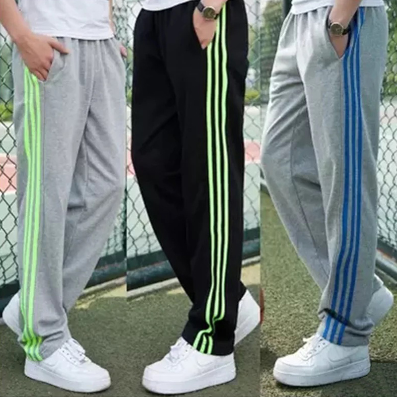 Disciplined Fat Mens Loose Pants Xl-7xl Large Size Cotton Sweatpants Mens Casual Trousers Straight Running Pants Wei Pants Jogging Suit Running Running Pants