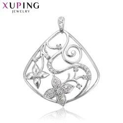 Biżuteria Xuping naszyjnik wisiorek w kształcie kwiatu styl wisiorka kobiety święto dziękczynienia moda prezenty 30371