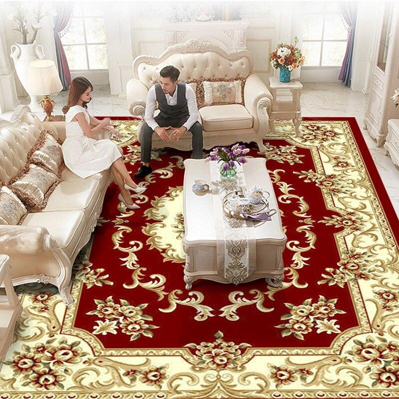 Eurpean luxe classique grand Tapis pour salon salon chambre environnement Tapis antidérapant persan Tapis 300*400 cm Palace