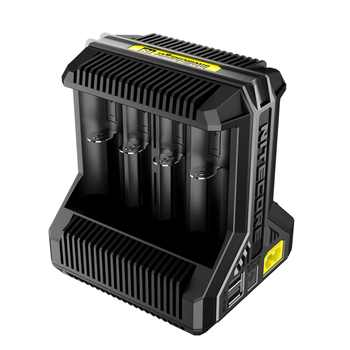 1 PC Nitecore i8 nuevo i4 i2 cargador inteligente 8 Total ranuras 4A salida Smart cargador para Li-ion 18650 16340 10440 AA AAA - SALE ITEM - Category 🛒 Lights & Lighting