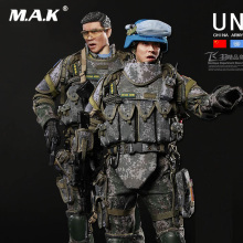 Full set doll 1/6 Scale military figure FLAGSET FS73016 Blue Helmet Warrior Chinese Peacekeeping Infantry Battalion
