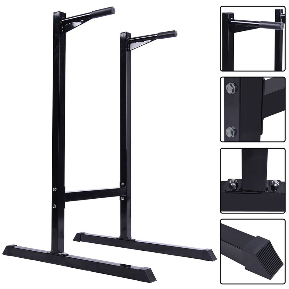 1 Pc US Delivery Single Parallel Bars Indoor Training Equipment Home Fitness Horizontal Bar frame Exercise Workout 440 LB fitness padded gravity boots safety locking mechanism ankle hooks abdominal workout training hang up ab gym equipment