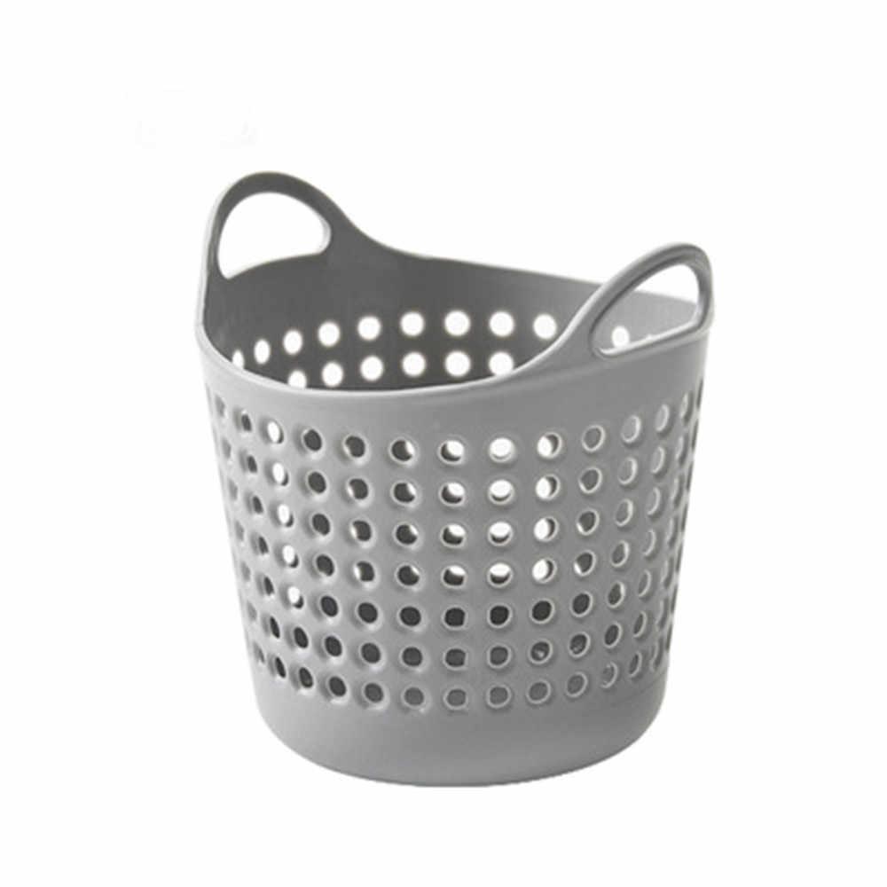 Cestas de Armazenamento doméstico Receber Cesta de Mini Armazenamento De Desktop Cesta de Lixo Lata de lixo cesta de armazenamento Brinquedo Do Banho de Moda Criativa