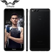 Huawei Honor 7X Mobile Phone With 5.93″ Full Screen 4G 32G Octa Core Kirin 659 Dual Rear Camera 2160*1080P Fingerprint 3340mAh