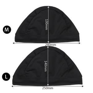 Image 5 - LEEPEE Motorcycle Helmet Inner Cap Unisex Quick Dry Breathable Hat Racing Cap Under Helmet