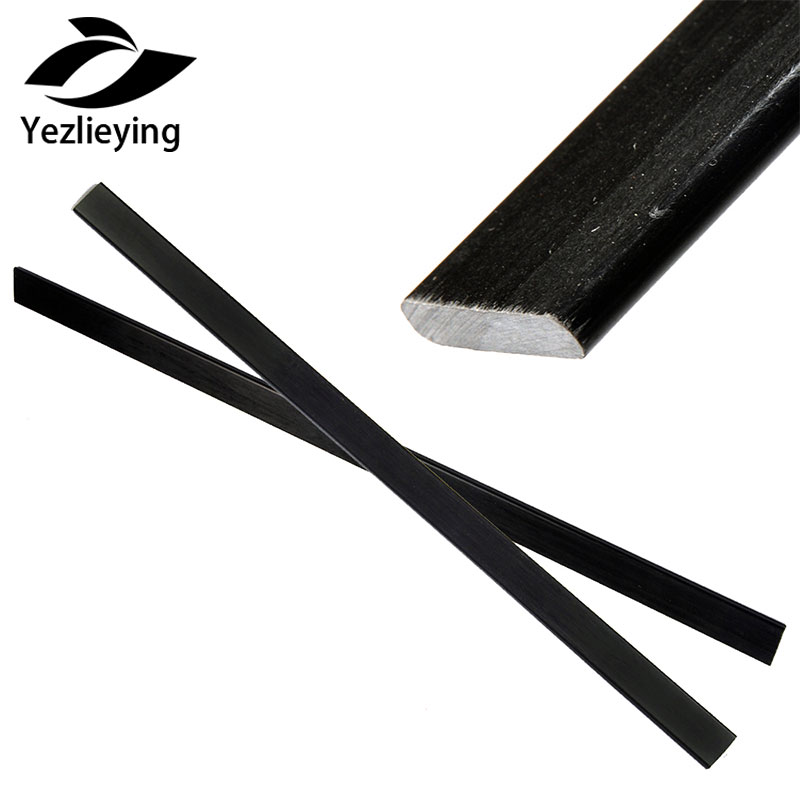 2pcs Hunting Archery High Strength Black Mixed Fiberglass Bow Limbs For DIY Bow Wargame Archery Shooting