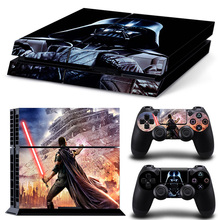 Fashion Star Wars Cover Vinyl Decal For Playstation 4 Console With 2 Controllers PS4 PS 4 Skin Sticker