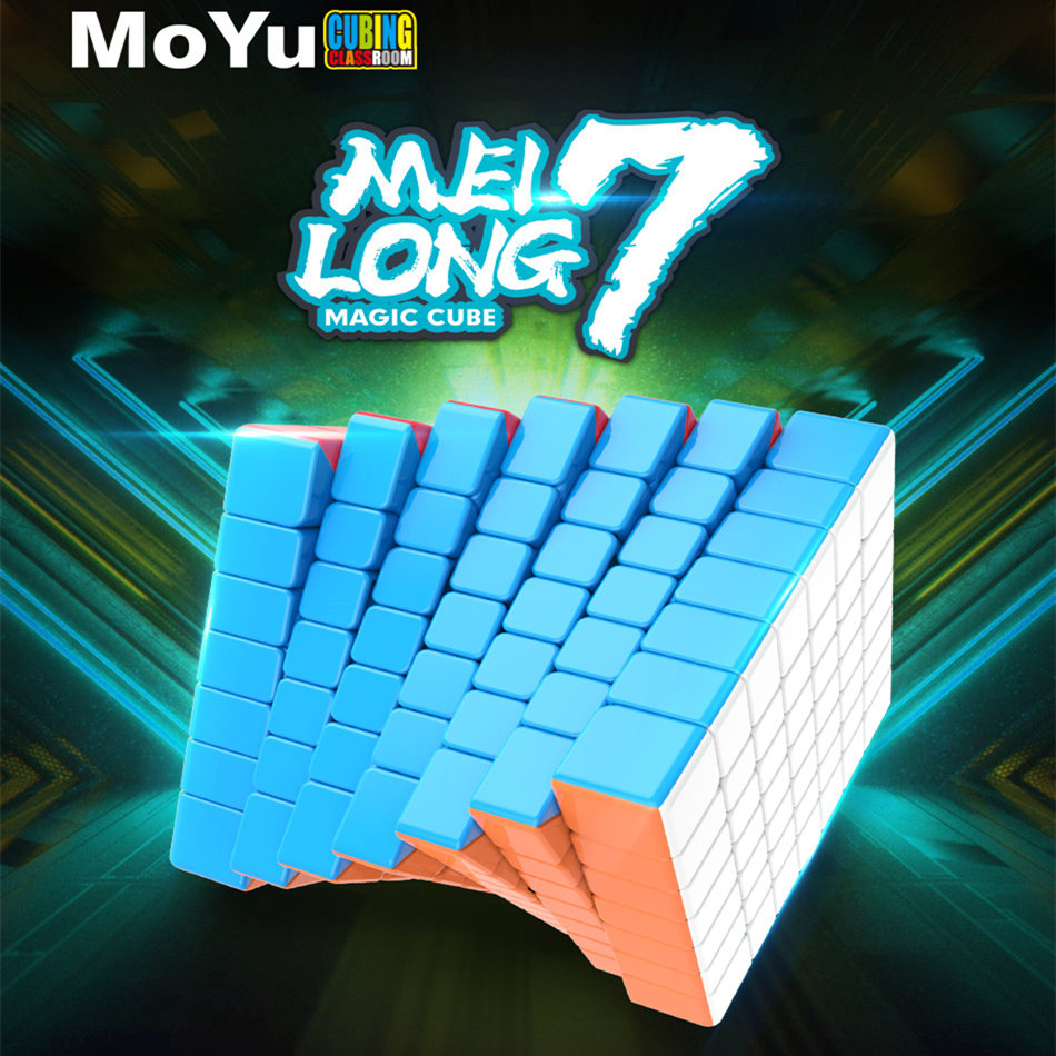 Moyu 7x7 CUBE Meilong 7x7x7 Magic Cube 7Layers Speed Cube Professional Puzzle Toys For Children Kids Gift Toy