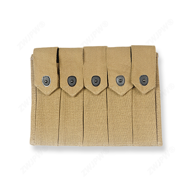 Repro WWII WW2 US ARMY Military Thompson 5 Cell 20rd Magazine Pouch Ammo Bag high quality US/41554