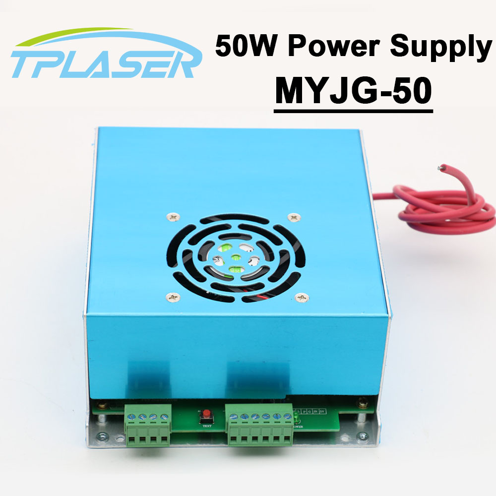 50W Laser Power Supply MYJG-50G 110V 220V for Co2 Laser Tube Engraving Cutting Machine 50w co2 laser power supply for co2 laser engraving cutting machine myjg 50w
