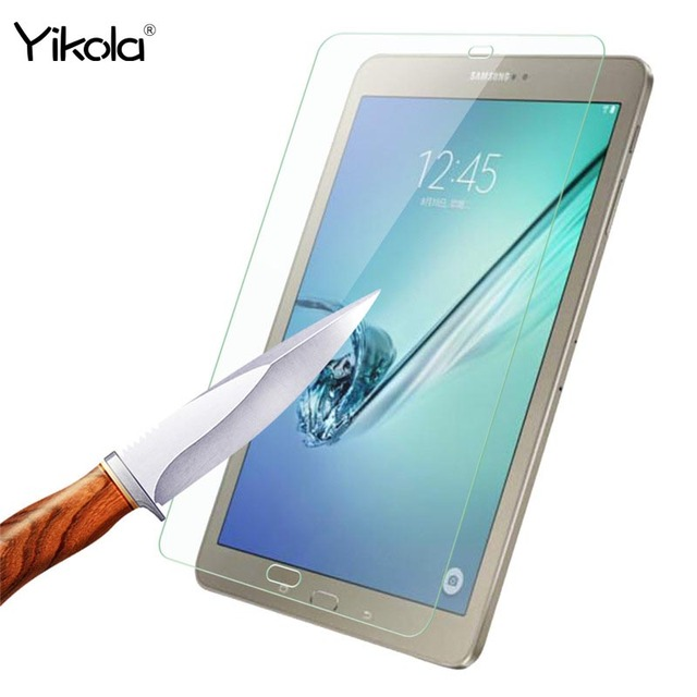 """5pcs Explosion-Proof Toughened Tempered Glass For Samsung Galaxy Tab S2 9.7"""" T810 T815 Tablet PC Film Clear Screen Protect Cover"""