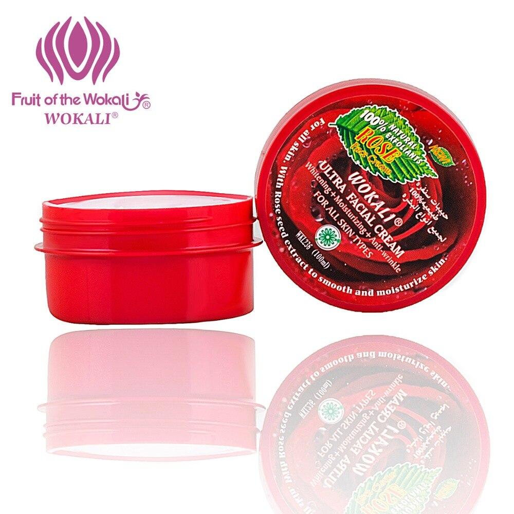Cuidados com a Pele 100g Wokali Creme Facial Hidratante