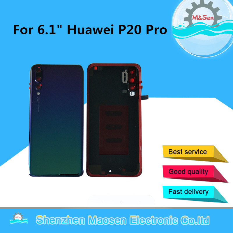 Original M&Sen For 6.1 Huawei P20 Pro Back Battery Cover Case Housing For Huawei P20 Pro Rear Door Replacement PartsOriginal M&Sen For 6.1 Huawei P20 Pro Back Battery Cover Case Housing For Huawei P20 Pro Rear Door Replacement Parts