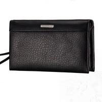 Brand Designer Wallets Men Genuine Leather Men Bag Natural Cowhide Clutch Wallet Luxruy Vintage Male Purse