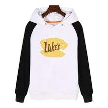 Gilmore Girls Lukes Diner .Lorelai Rory. Hoodies Sweatshirts winter Streetwear Hip hop Fleece Clothing Tracksuit AN087