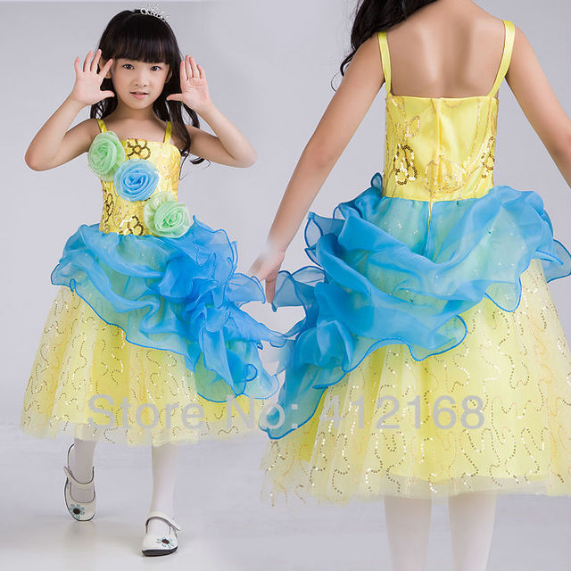 36d102c9c7d Designs Photography Colourful Flower Girl Dresses For Weddings party Kids  Fantasy Prom Princess Pageant Children s Evening 5878