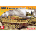 Dragon scale model scale vehicel scale tank  7440 I Veyron German Tiger tank was equipped with magnetic lines + Knight Tankman