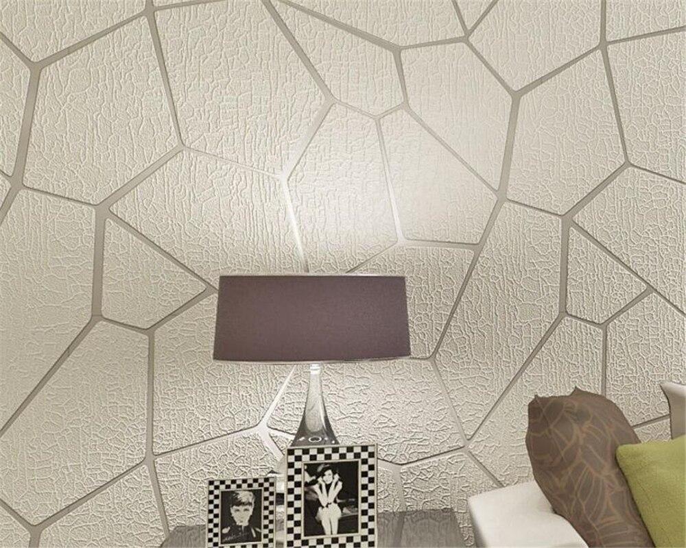 Beibehang Simple 3D Relief Deerkin courbe courbe graphique géométrique papier peint chambre salon fond 3d papier peint rouleau