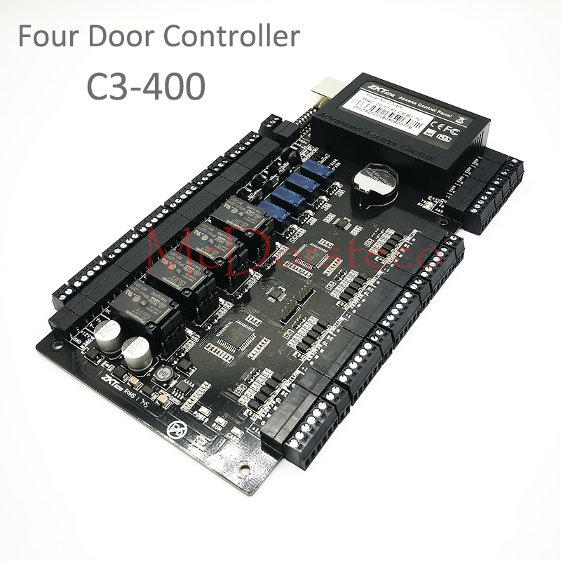 ZK C3-400 Tcp/Ip Rfid Access Control System Four door Security Access Controller IP-based Four Door Access Control Panel цена
