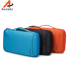 A Ausuky Large 64/100/200 Disc Capacity DVD CD Case for Car Media Drive Storage CD Bag -30