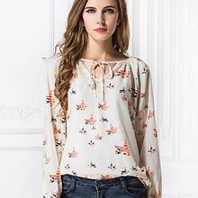 10b9226aa7 Plus Size Mulheres Blusa blusas femininas 2019 tropical Do Vintage Elegante  Blusa Floral desigual roupas Roupas Baratas China Im..