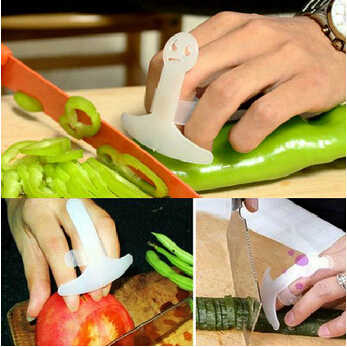Защита пальцев пластиковый предохранитель для пальцев Защита пальца рука не повредит резалка для овощей инструменты кухонные аксессуары