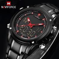 Top Luxury Brand NAVIFORCE Men Military Waterproof LED Sport Watches Men S Digital Clock Male Wrist