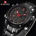 Top Luxury Brand NAVIFORCE Men Military Waterproof LED Sport Watches Men's Clock Male Wrist Watch relogio masculino 2017