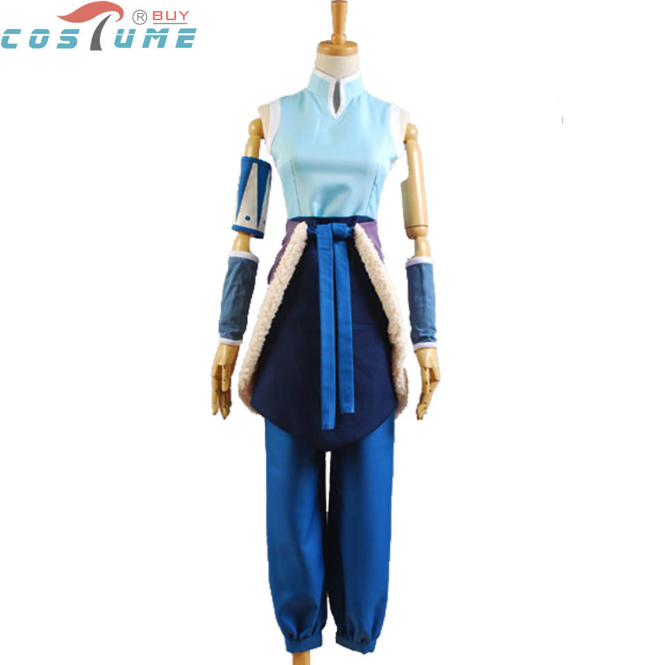 Avatar The Legend of Korra Cosplay Costumes For Women Halloween Costume Custom Made Free Shipping