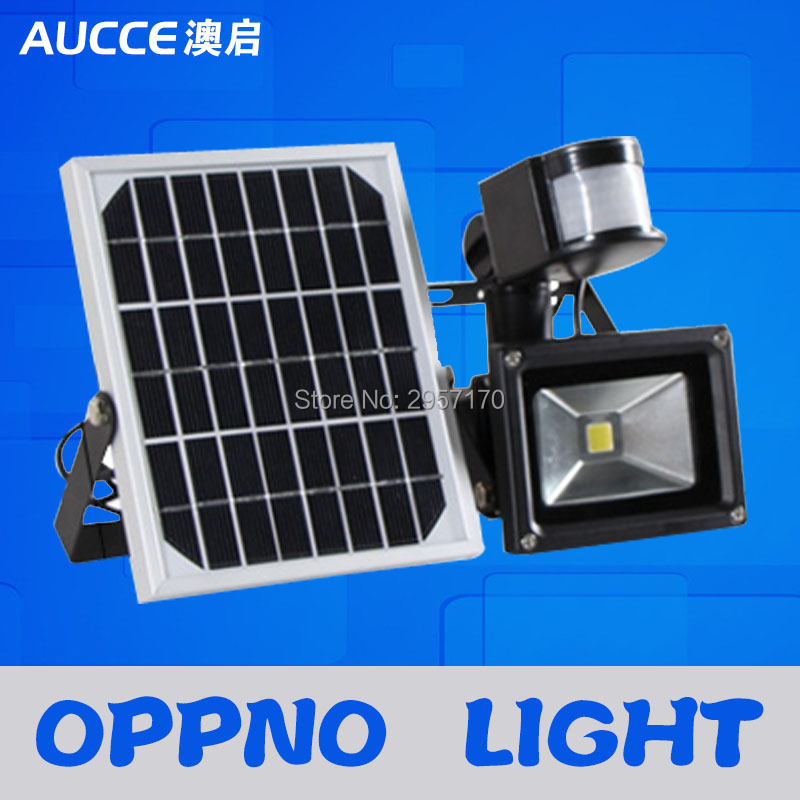 body motion induction solar powered panel led automatic control street light outdoor flood lights solar garden