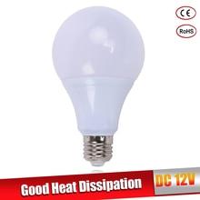 LED bulb lamps E27 DC 12V LED lights Lampada LED Smart IC Real Power Led Spotlight bombillas LED 3W 5W 7W 9W 12W 15W white