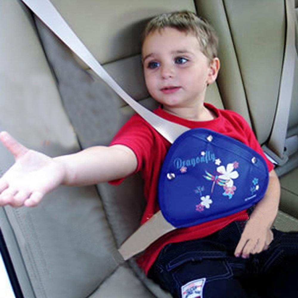 Safety Seat Belt Adjuster Positioner Cover Pad Harness For