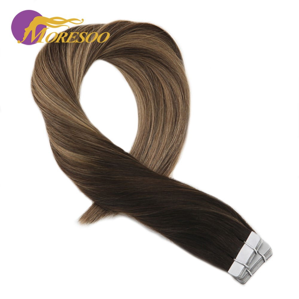 Moresoo Tape In Hair Extensions Review Best More 2017