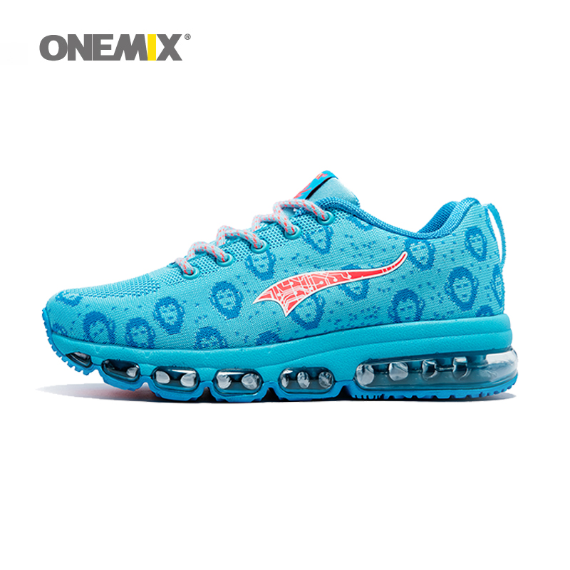 Onemix women running shoes breathable outdoor sport sneakers comfortable jogging shoes lady walking sneakers in blue new onemix breathable mesh running shoes for men women light lady trainers walking outdoor sport comfortable sneakers