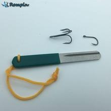 Rompin Diamond Fishing Hook Hone for treble hook Fishook Sharpening Fishing Tackle Box Sharpener Accessory Tool