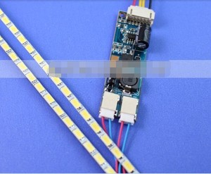 Image 1 - Neue!! 10pcs Universal Led hintergrundbeleuchtung Lampen Update kit Für LCD Monitor 2 LED Streifen Unterstützung zu 24 540mm Freies verschiffen