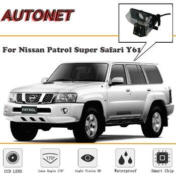 Cámara de visión trasera AUTONET para Nissan Patrol Y61 Patrol 4WD Super Safari/CCD/visión nocturna/cámara de respaldo/cámara para matrícula