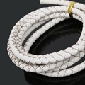 Genuine Braided Leather Cords 5mm Jewelry DIY Black/White/Brown/Colors Round Cord Making Necklace Bracelets Cords