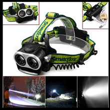 5000LM LED Headlamp CREE XML T6 3 Modes Rechargeable Headlight Head Lamp Spotlight camping equipment For Hunting+Charger FA(China)