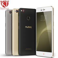 Оригинальный ZTE Нубия Z11 мини S мобильный телефон Snapdragon MSM8953 Octa core 4 ГБ Оперативная память 64 ГБ Встроенная память 5.2 дюймов 1920*1080 P 23MP отпечатков пальцев ID