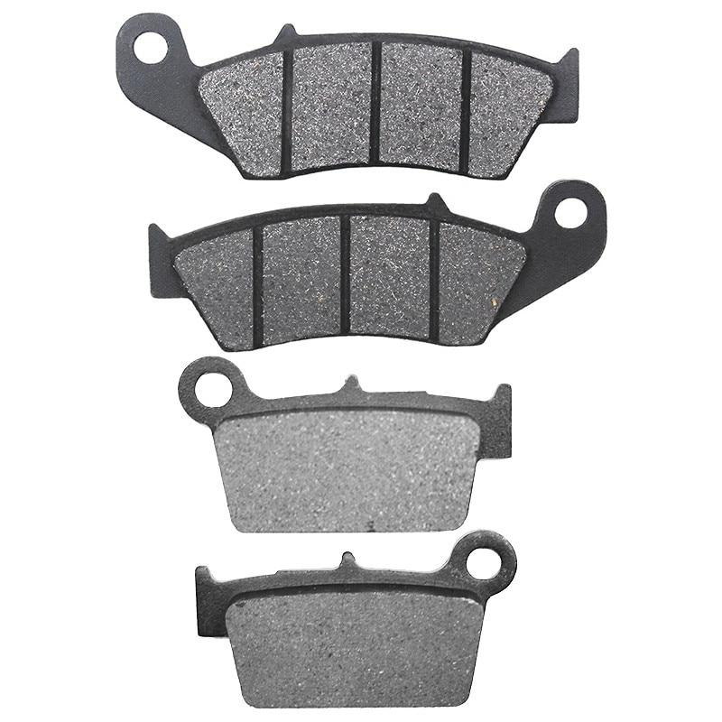 Передние и задние тормозные колодки для мотоцикла, SUZUKI, RMZ250, RMZ 250 2004-2015, RMZ450, RMZ 450, 2005-2015