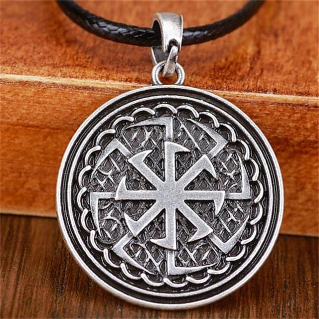 Aliexpress Com Buy 2 In 1 Constellations Pendant Amulet: Slavic Pendant Double Kolovrat Amulets And Talismans